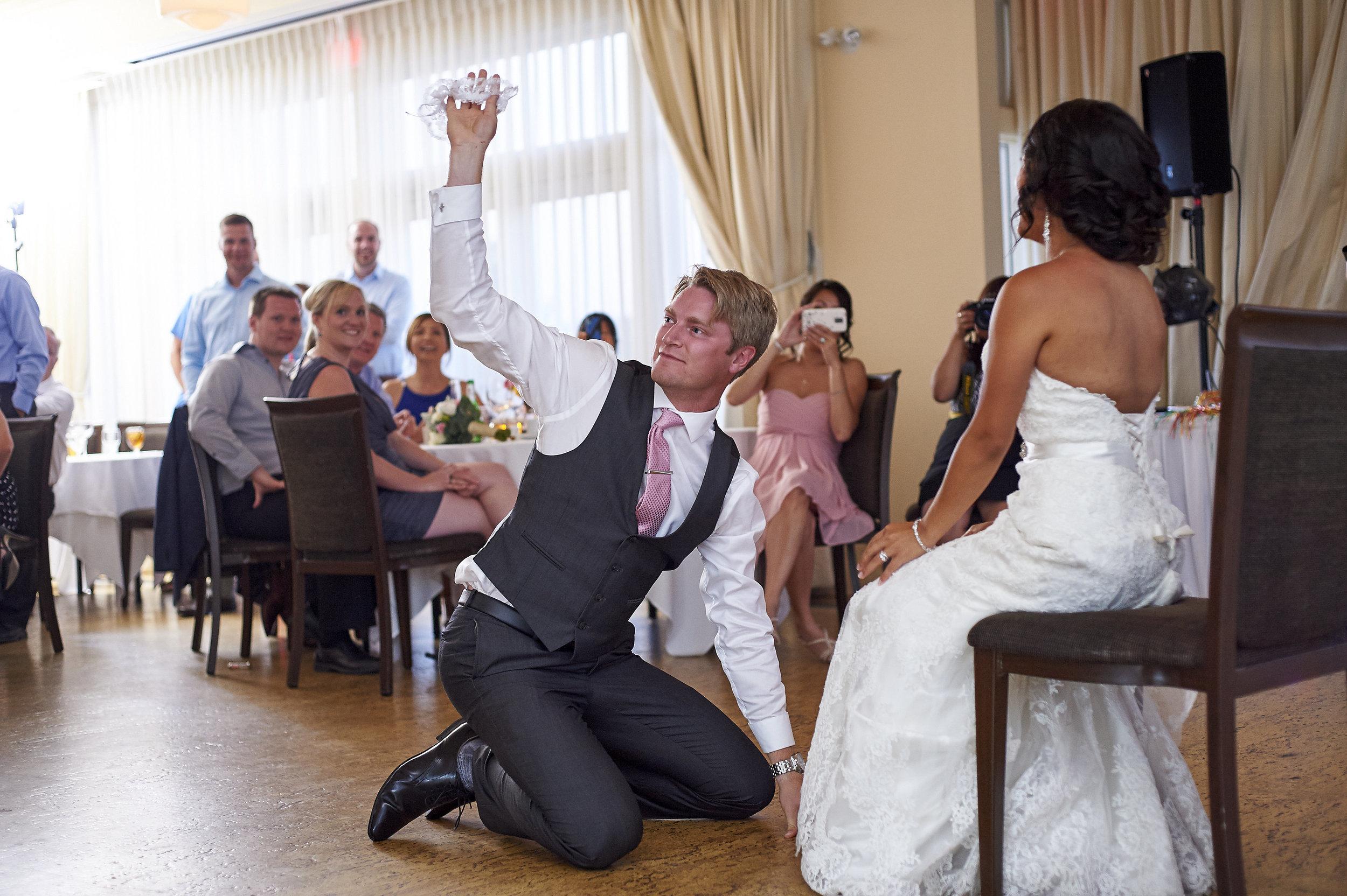 The garter toss