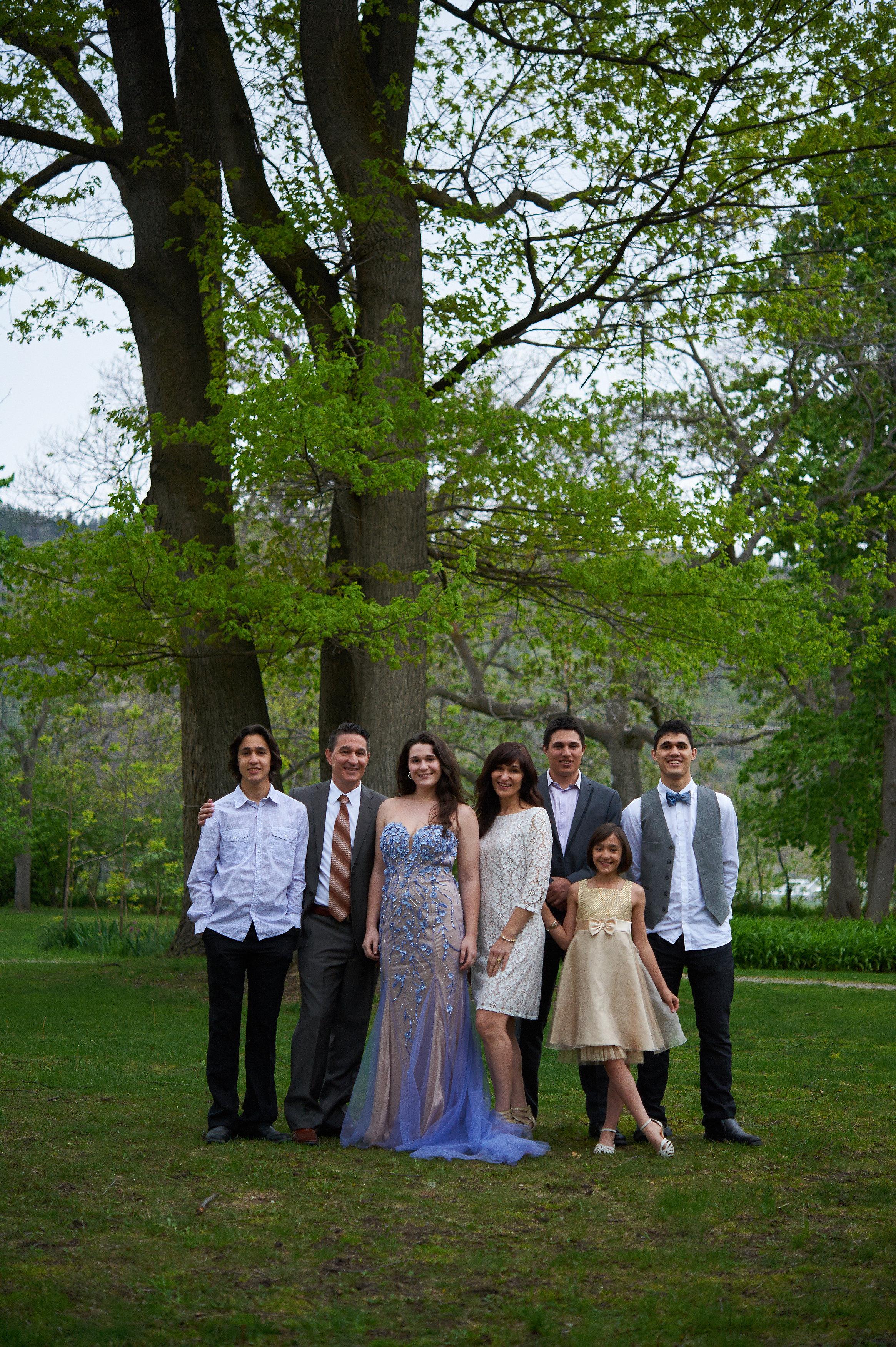 The family portrait long shot