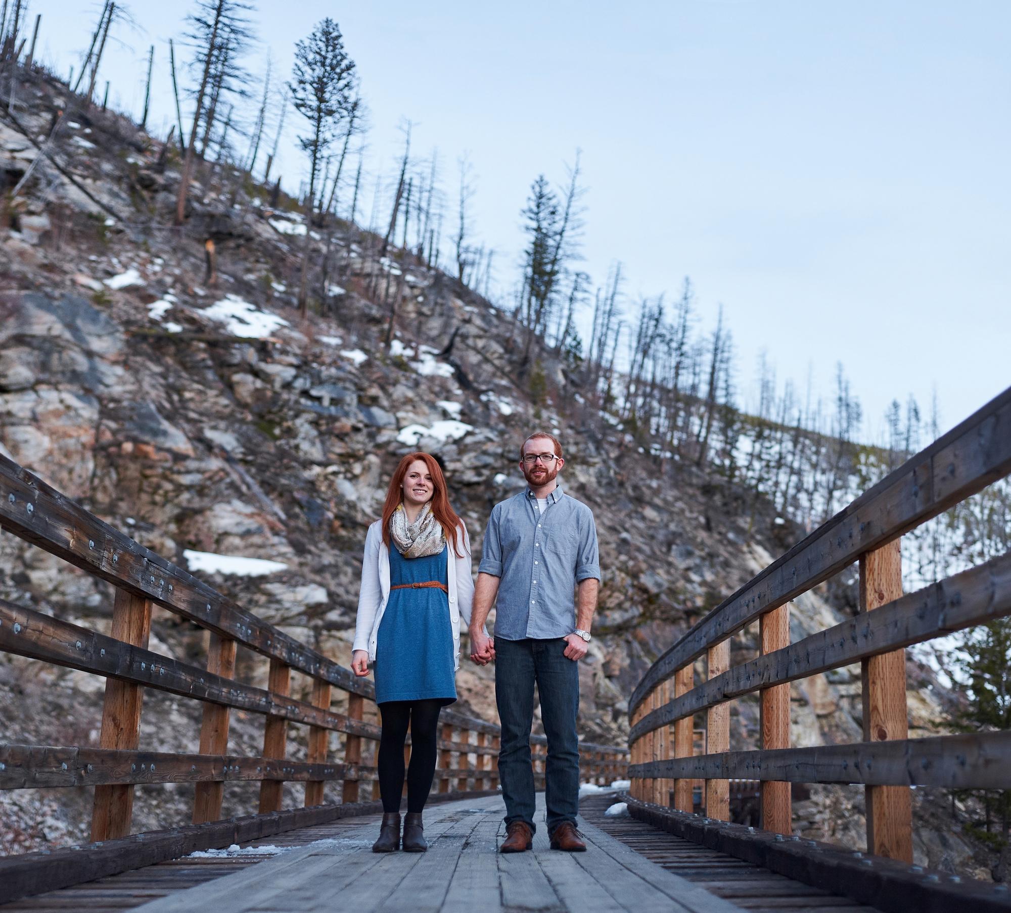 Jeff and Larissa Kelowna Engagement and Wedding