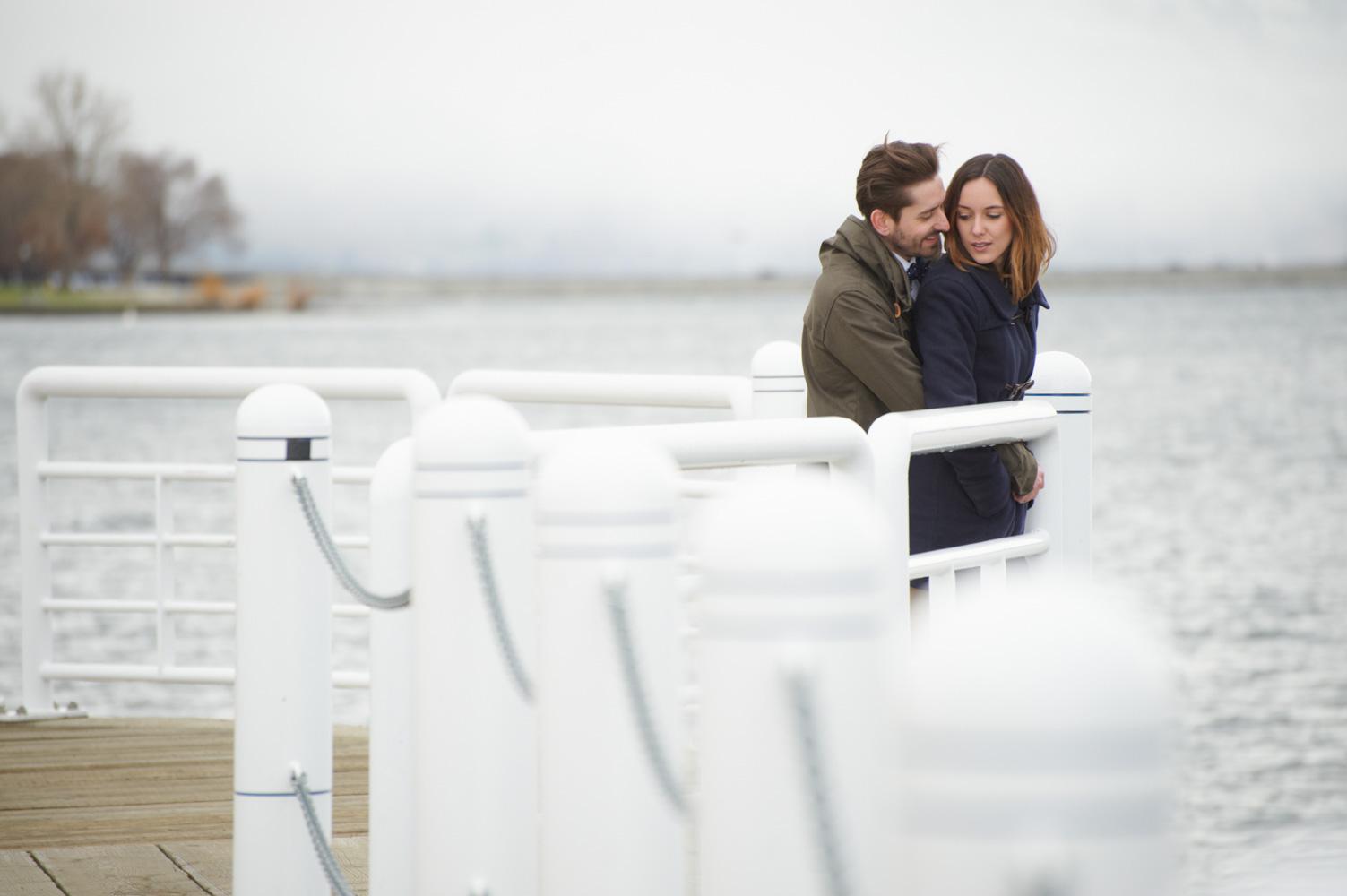engaged couple session