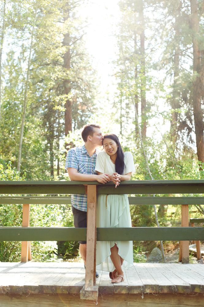 engaged-couple-on-a-bride-in-the-sun-in-mission-creek-park.jpg