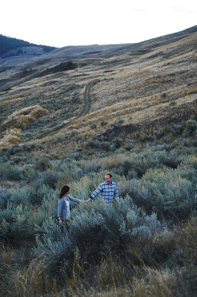engagement session in vernon