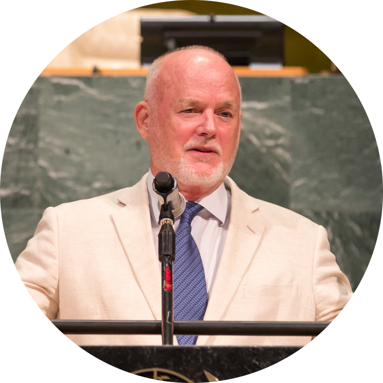 H.E. Mr. Peter Thomson,    President of the 71st UN General Assembly