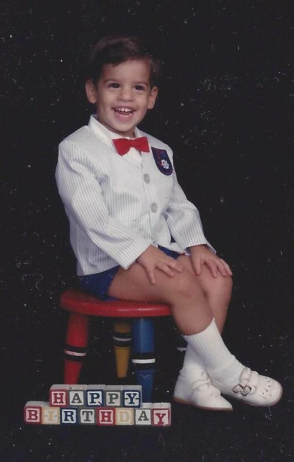 Honestly not sure why my mom dressed me like this but I'm kinda loving it.