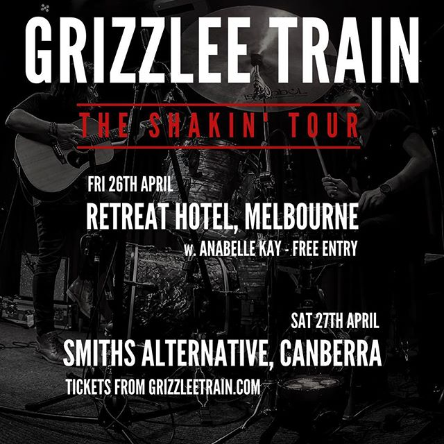 HUUUGE weekend coming up as the SHAKIN' tour keeps chugging along. Melbourne Friday - Canberra Saturday - Central Coast Sunday! #shakin #tour #melbourne #canberra #budgewoi