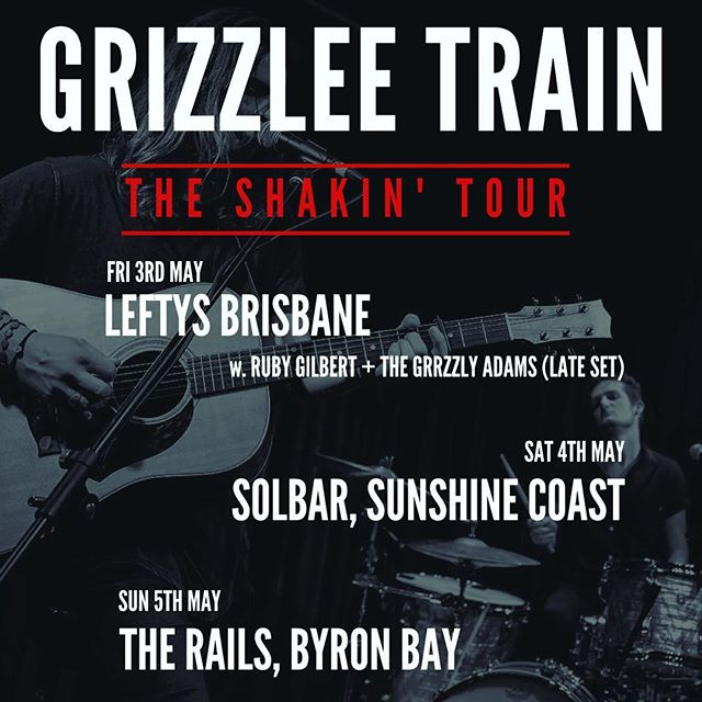 Last week we played 4 gigs in 4 nights and drove about 2500 kms in between...but we ain't slowing down! Another huge weekend coming up! #shakin #tour #eastcoast #brisbane #sunshinecoast #byronbay