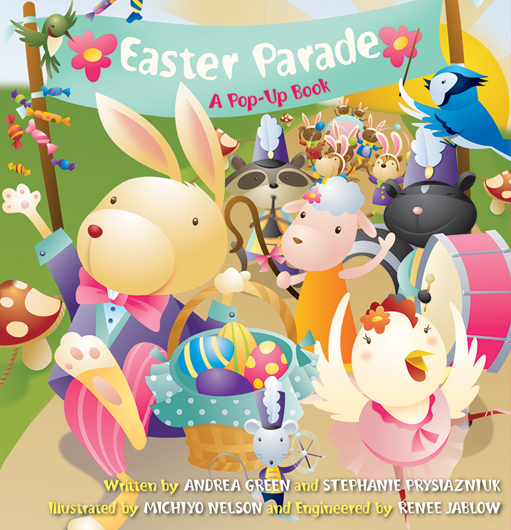 EASTER PARADE   Jumping Jack Press  ©Up With Paper  Watch video  here