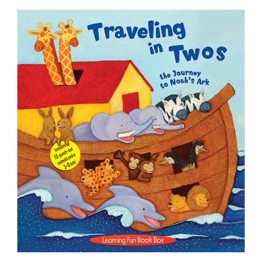 TRAVELING IN TWOS: THE JOURNEY TO NOAH'S ARK   Piggy Toes Press  Format also by Renee Jablow