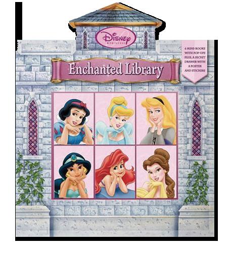 DISNEY PRINCESS: ENCHANTED LIBRARY   Disney Press