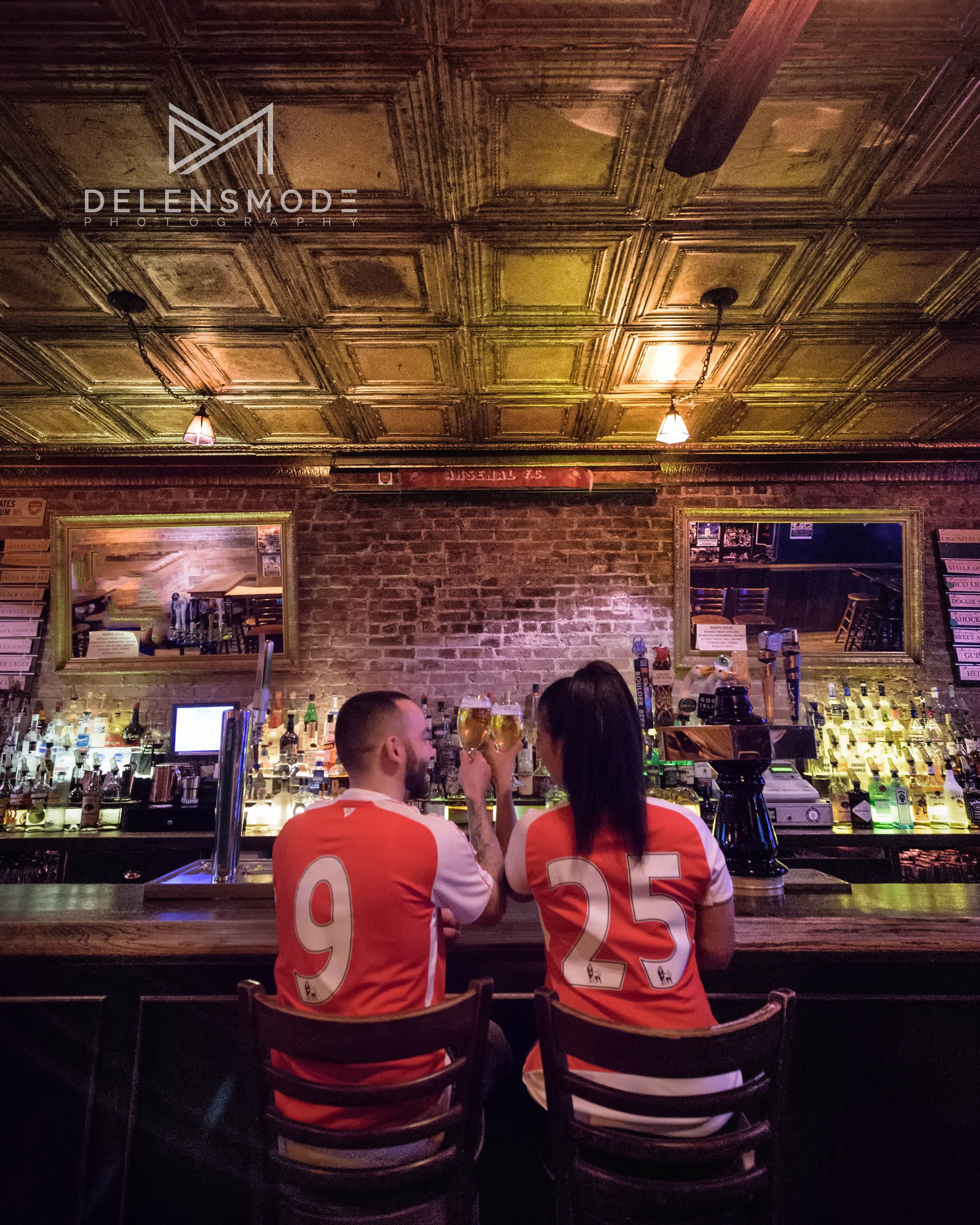 new york city blind pic arsenals engagement photography