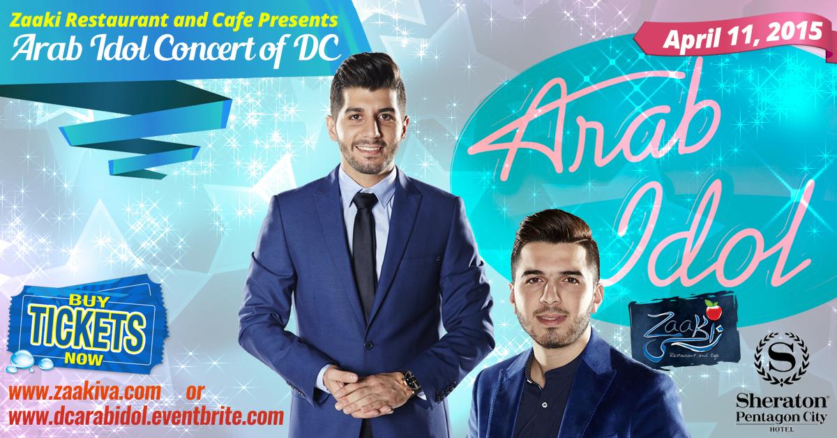 "Zaaki Presents ""Arab Idol"" Music Festival of DC"