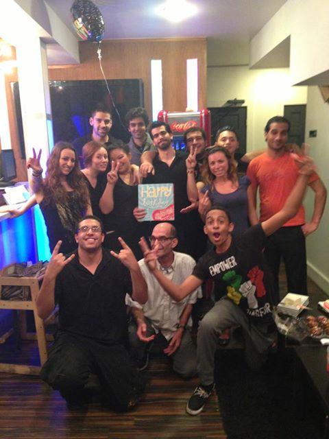 Zaaki restaurant and hookah bar team