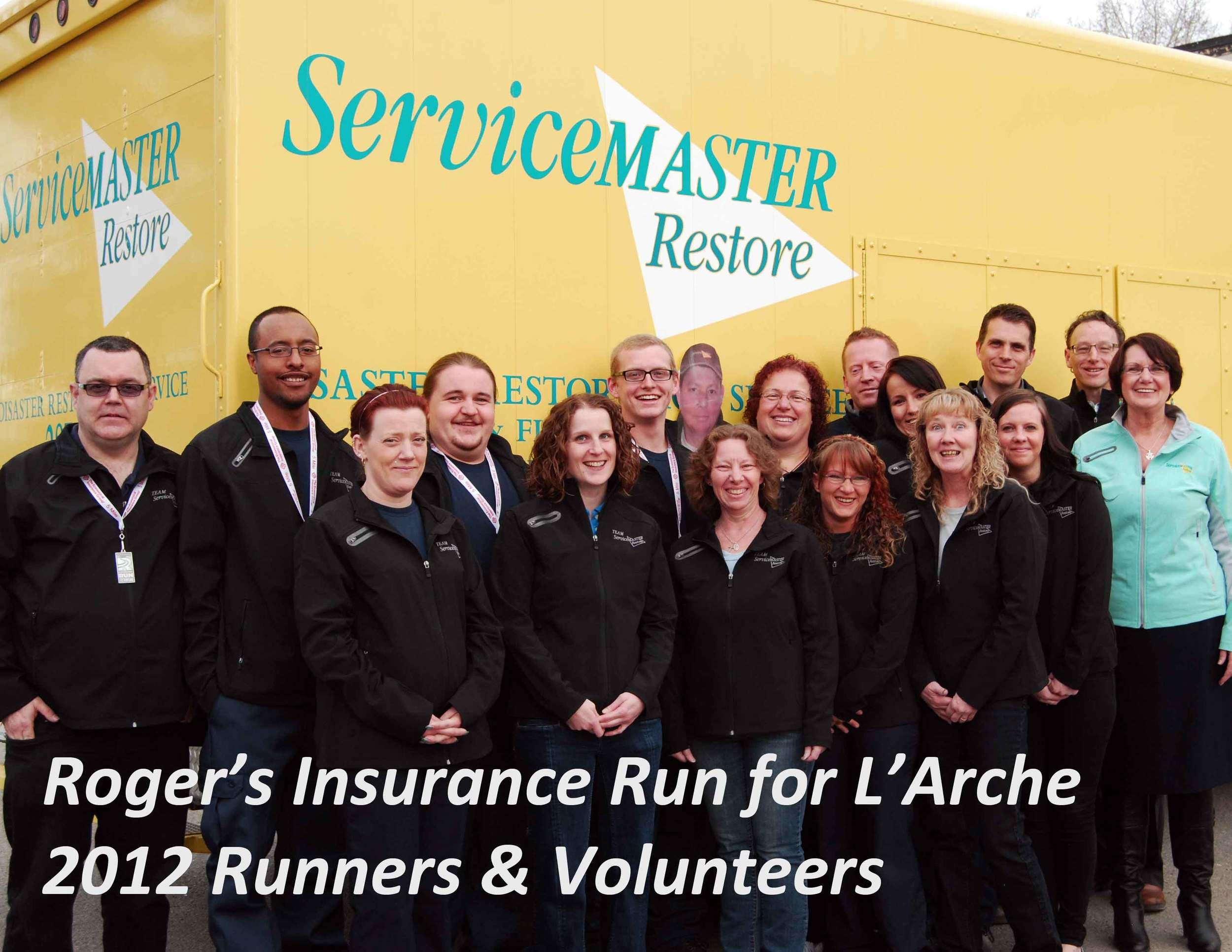 servicemaster larche run 2012