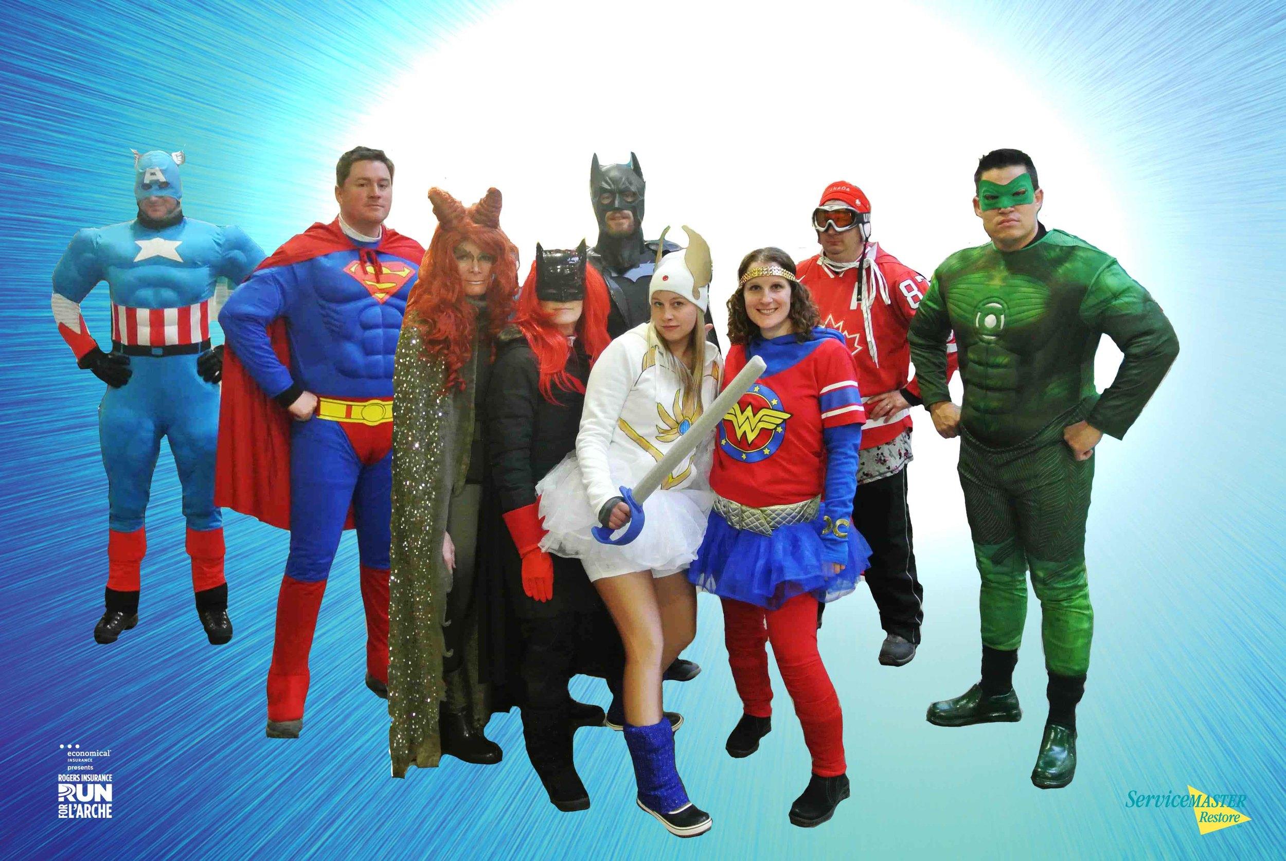 ServiceMaster Superheroes