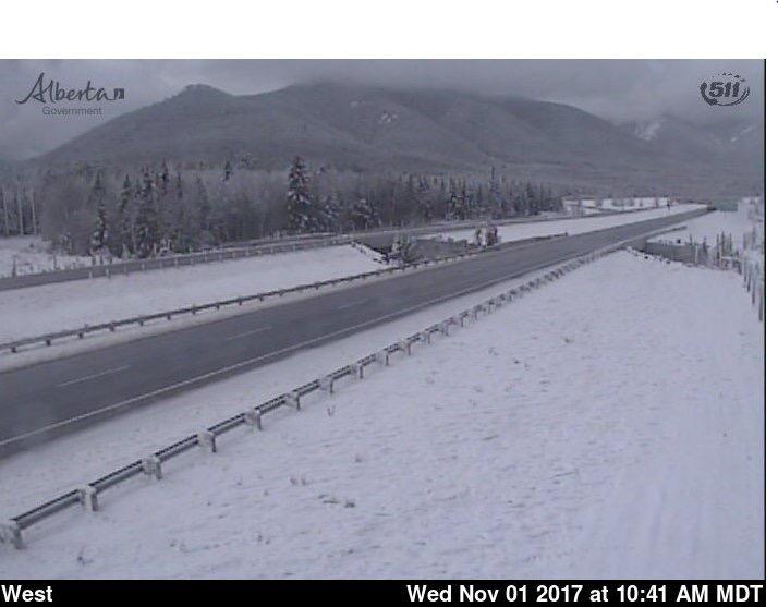 Nov 1st, 2017  TransCanada Highway near Canmore