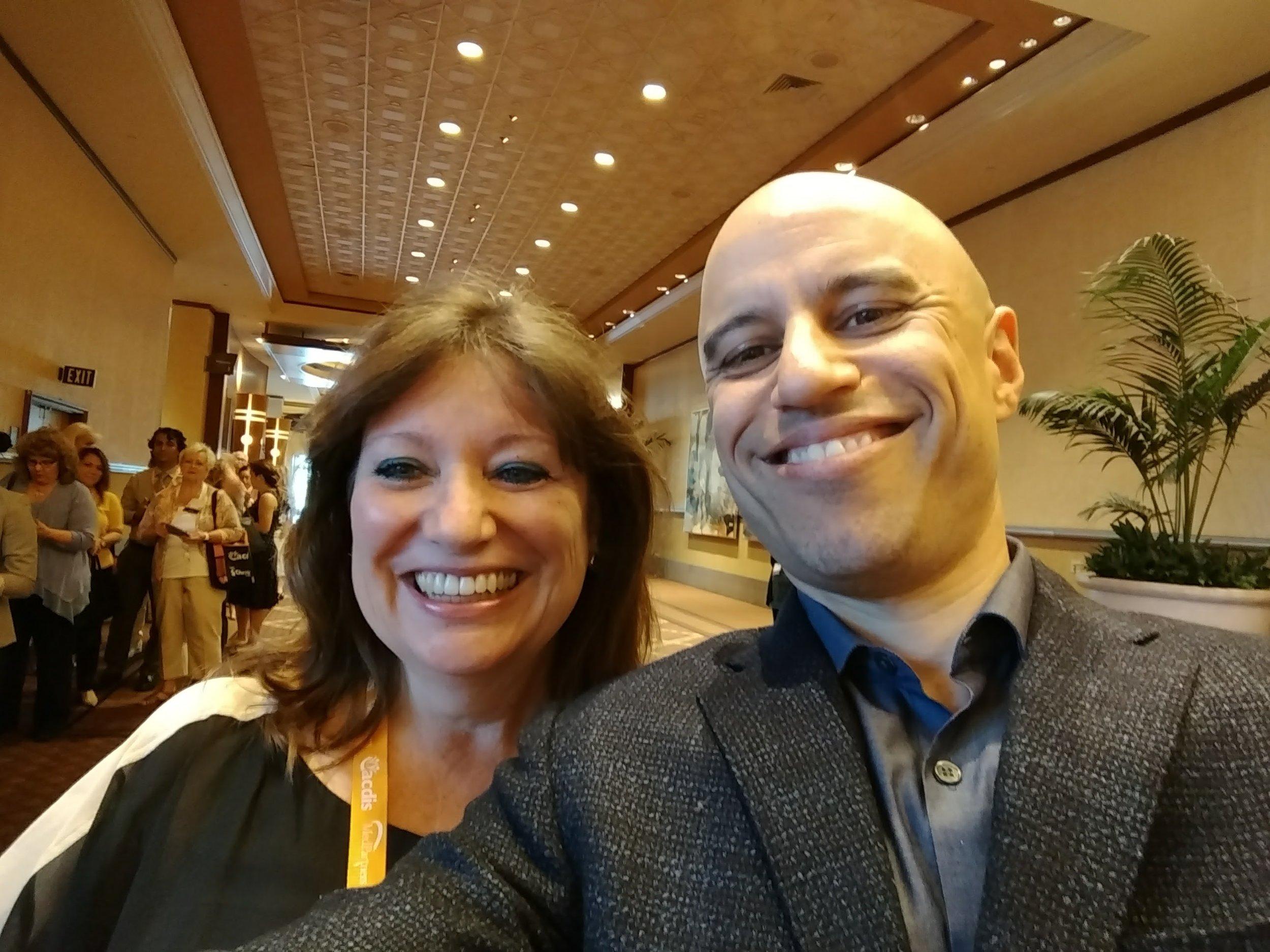 Claudia Logan and Dr. Zubin Damania AKA ZDoggMD