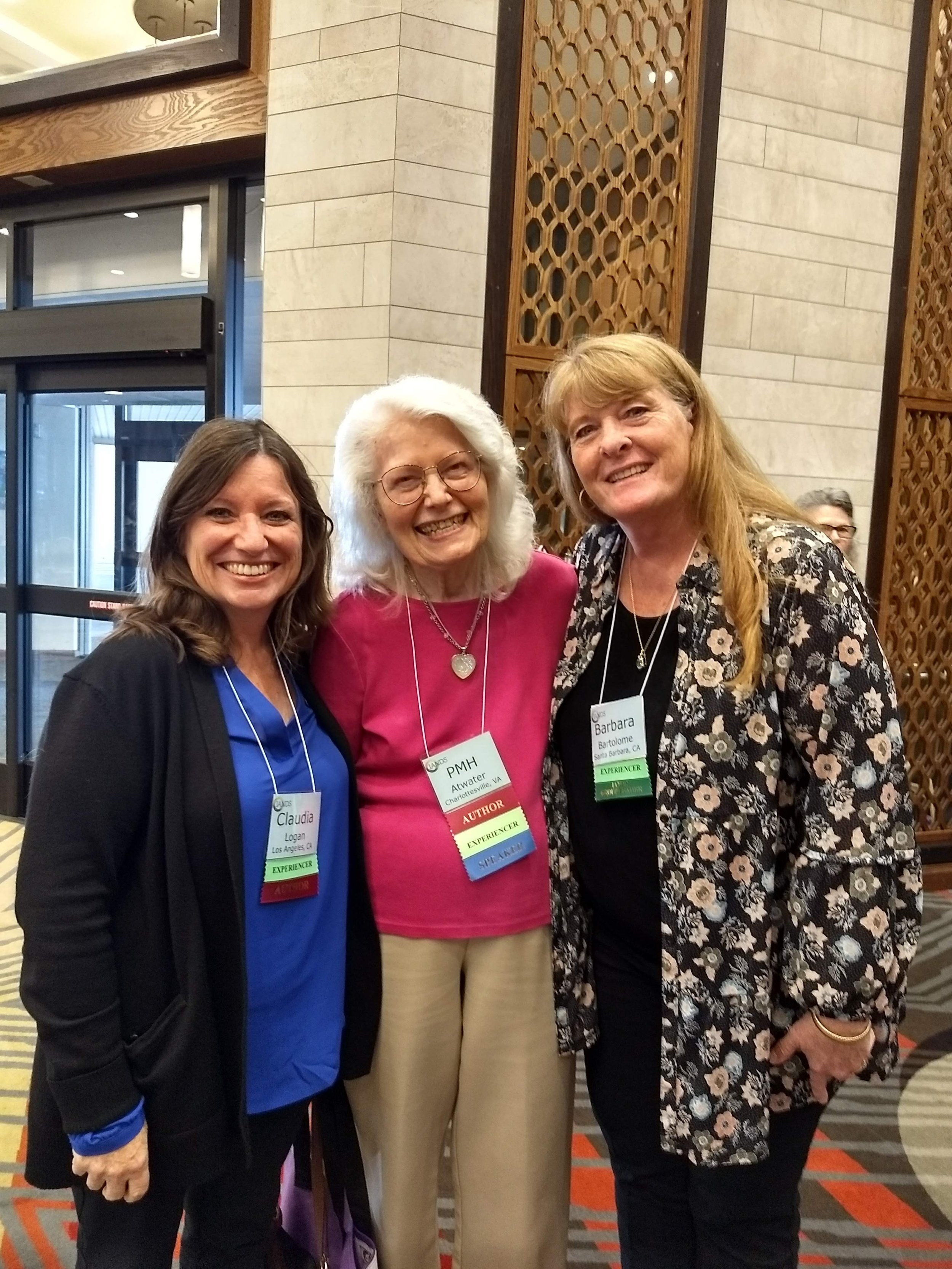 Claudia Logan, PMH Atwater and Barbara Bartolome
