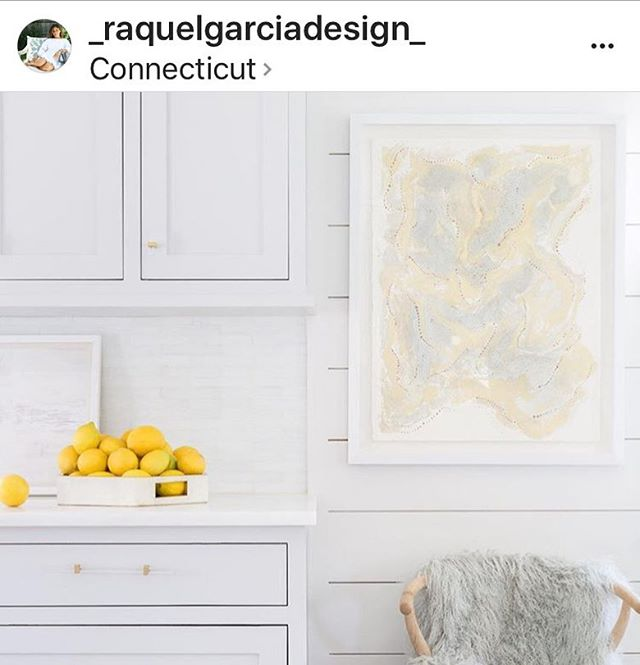 Thank you to the amazingly talented @_raquelgarciadesign_ for including my work in one of her beautifully designed homes x ✨Photo cred @alyssarosenheck