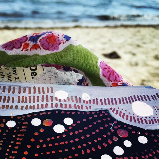 Last beach day of the summer #2017summerwork #diliptextiles #loopbeach @ca5andra need more #Dilip