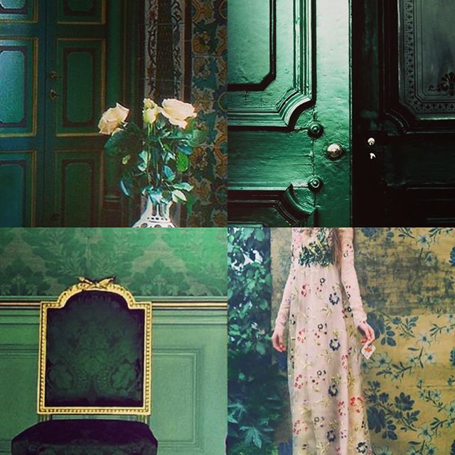 Crushing on Emerald green at the mo. Thank you @navyhousenpt for your inspiring images #swoon 💚
