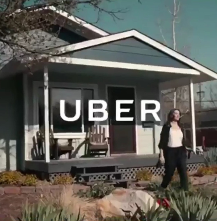 UBER - Ashlynn flew to her second hometown in the Rocky Mountains to shoot a cute internet commercial for Uber. Look for it on social media sites!