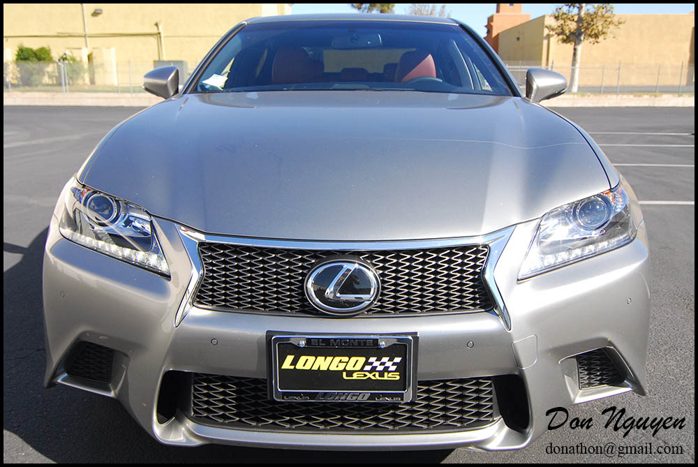 Lexus GS350 - Gloss Black Window Trim Car Wrap — WANNABERACER WRAPS