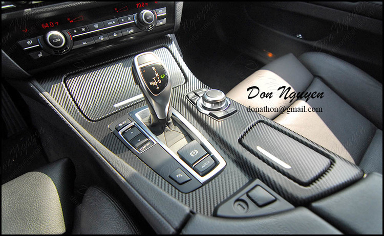 BMW F10 535i - 3M 1080 Gloss Carbon Fiber Interior Vinyl Wrap