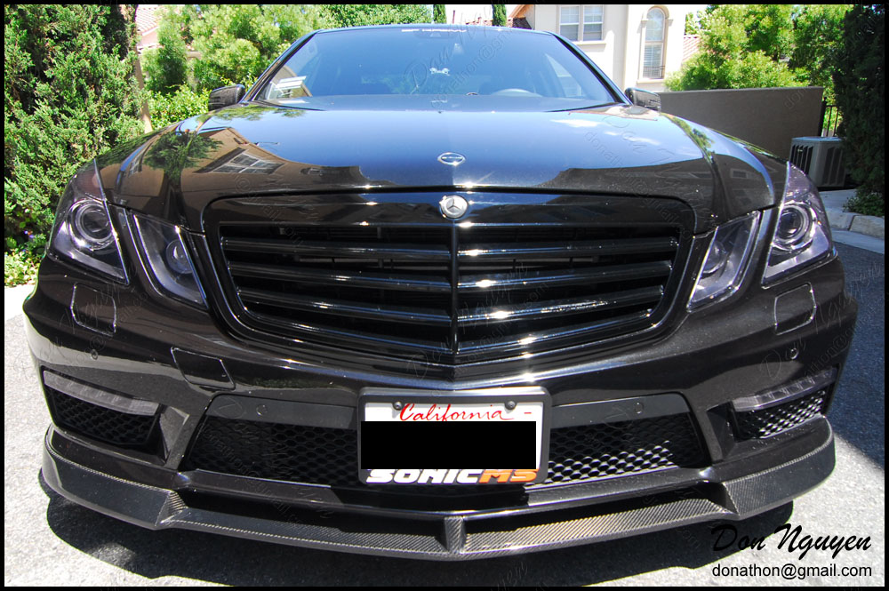 Mercedes Benz C63 Sedan - Tinted / Smoked Head and Tail Lights Vinyl Car Wrap