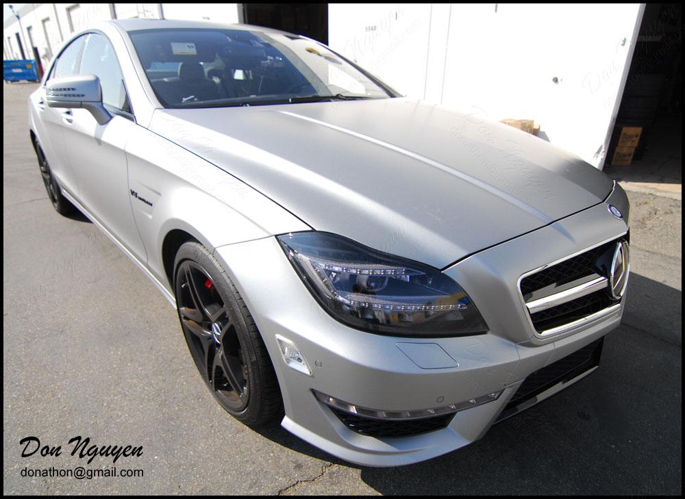 Mercedes Benz CLS63 AMG Sedan - Tinted / Smoked Tail Lights Vinyl Car Wrap