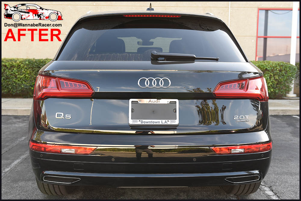 Audi Q5 SUV - Gloss Black Chrome Delete Package Vinyl Car Wrap