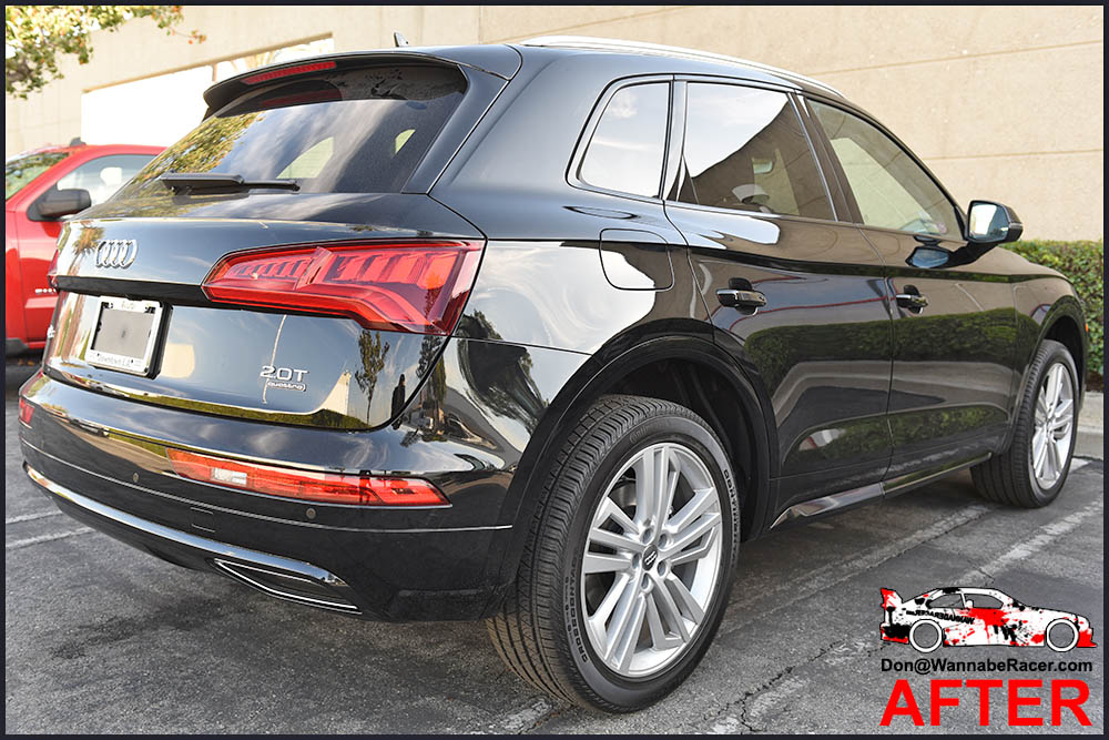 Audi Q5 SUV - Gloss Black Chrome Delete Package Vinyl Car