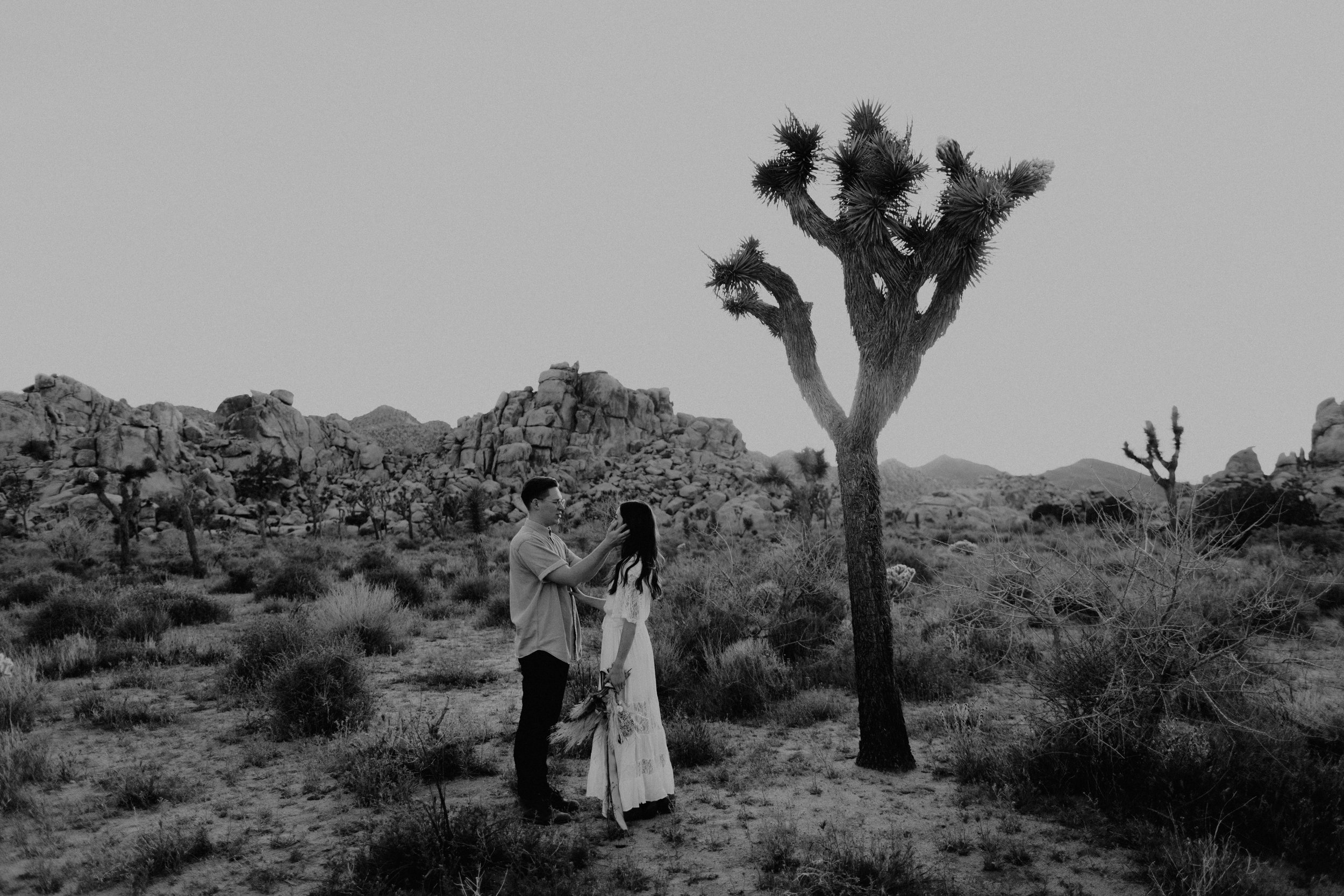 Unique Joshua Tree Elopement photographed by Liz Rudman Photography