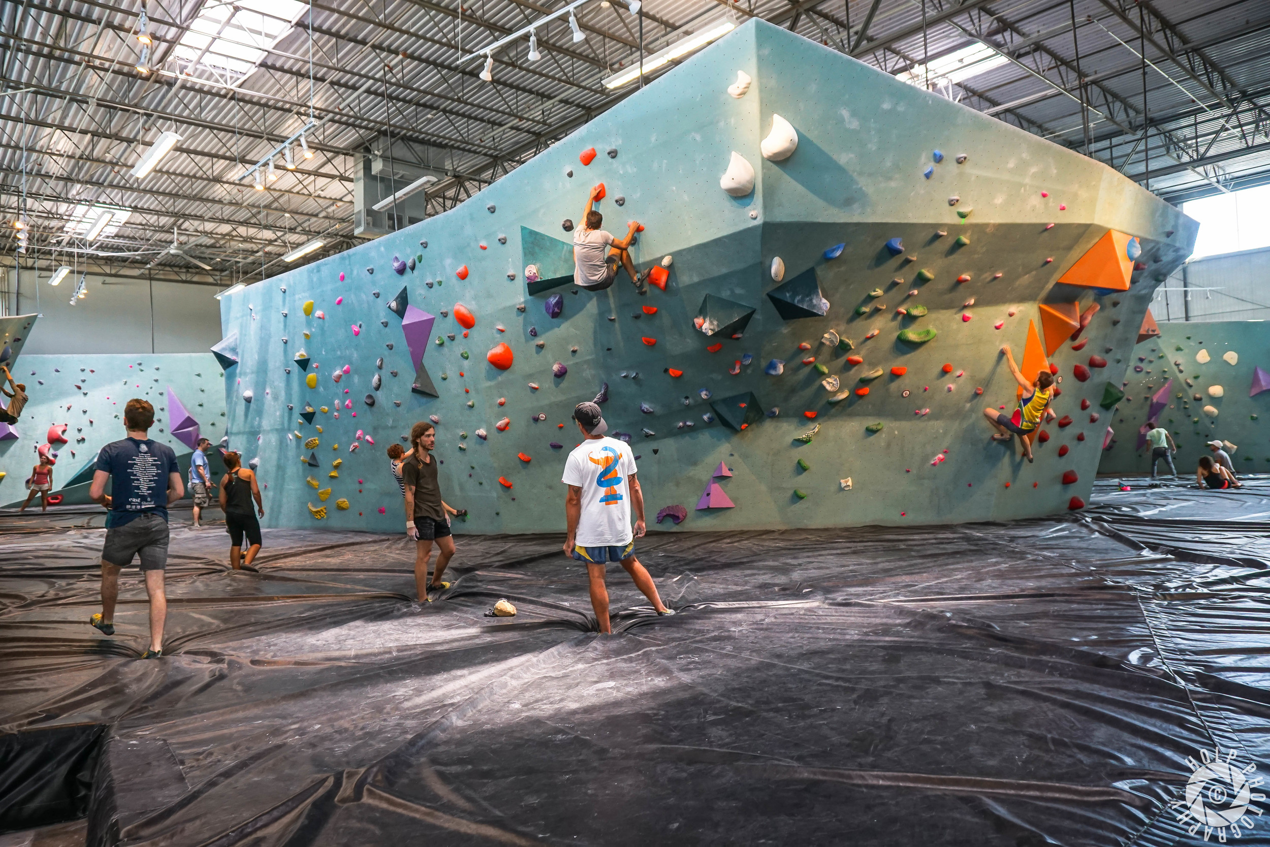 Austin Bouldering Project - Climbing Wall