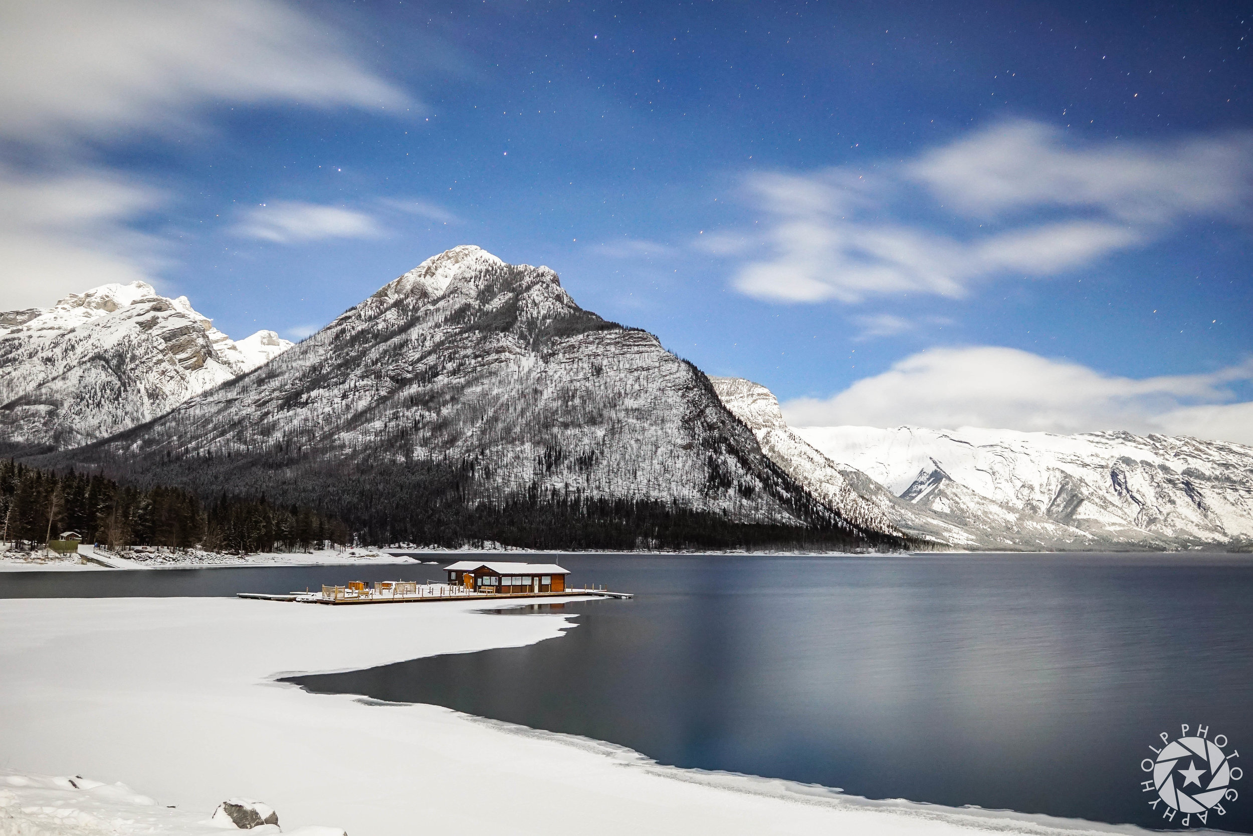 Cabin On The Lake - Banff National Park