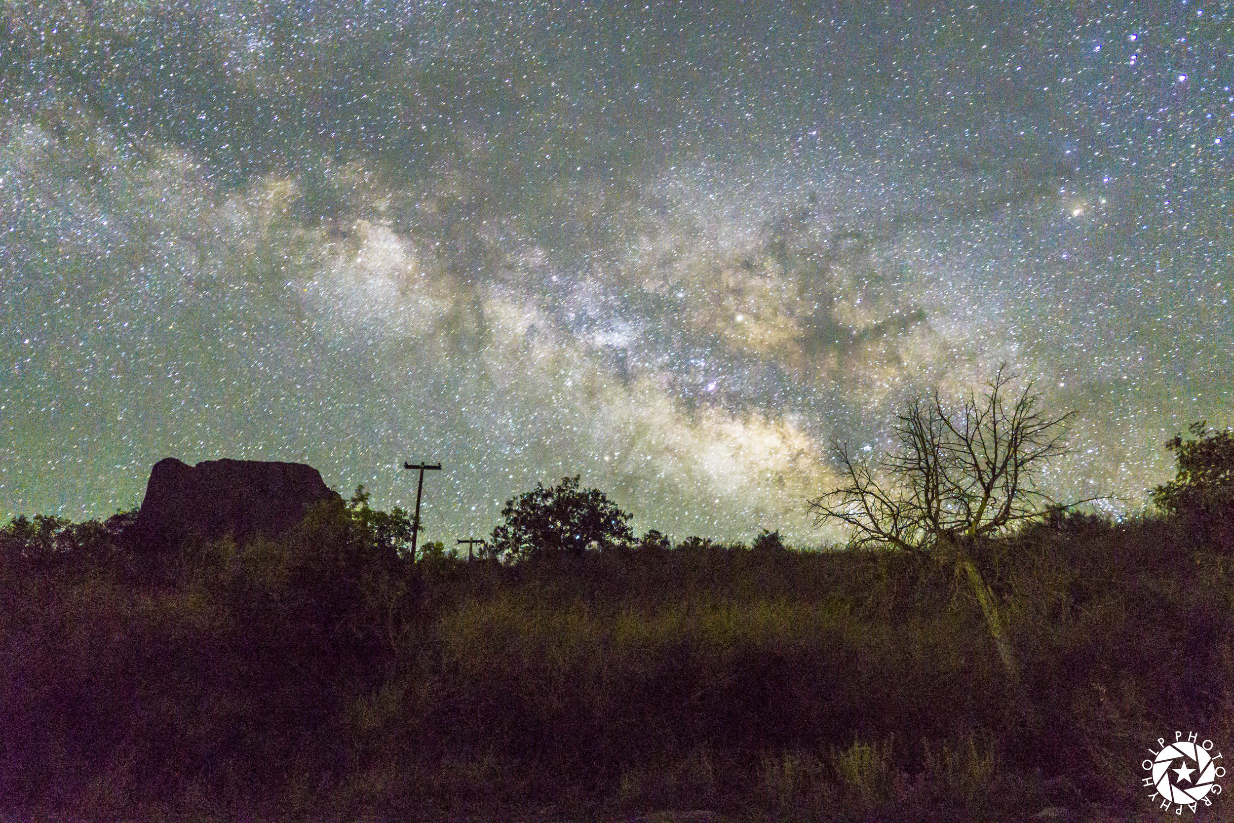 Milky Way Long Exposure Photo @ Big Bend National Park