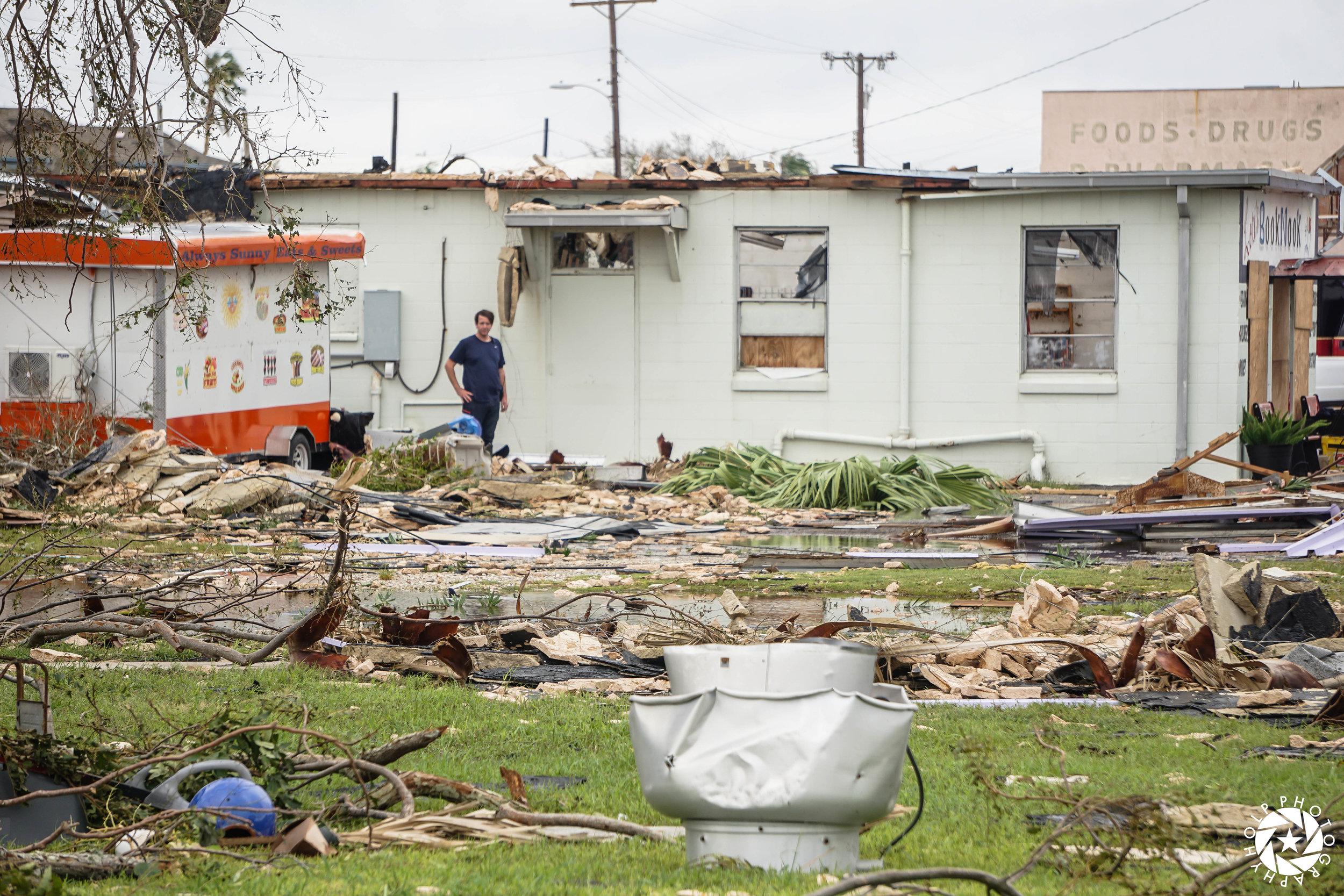 Hurricane Harvey Aftermath - Rockport, Texas