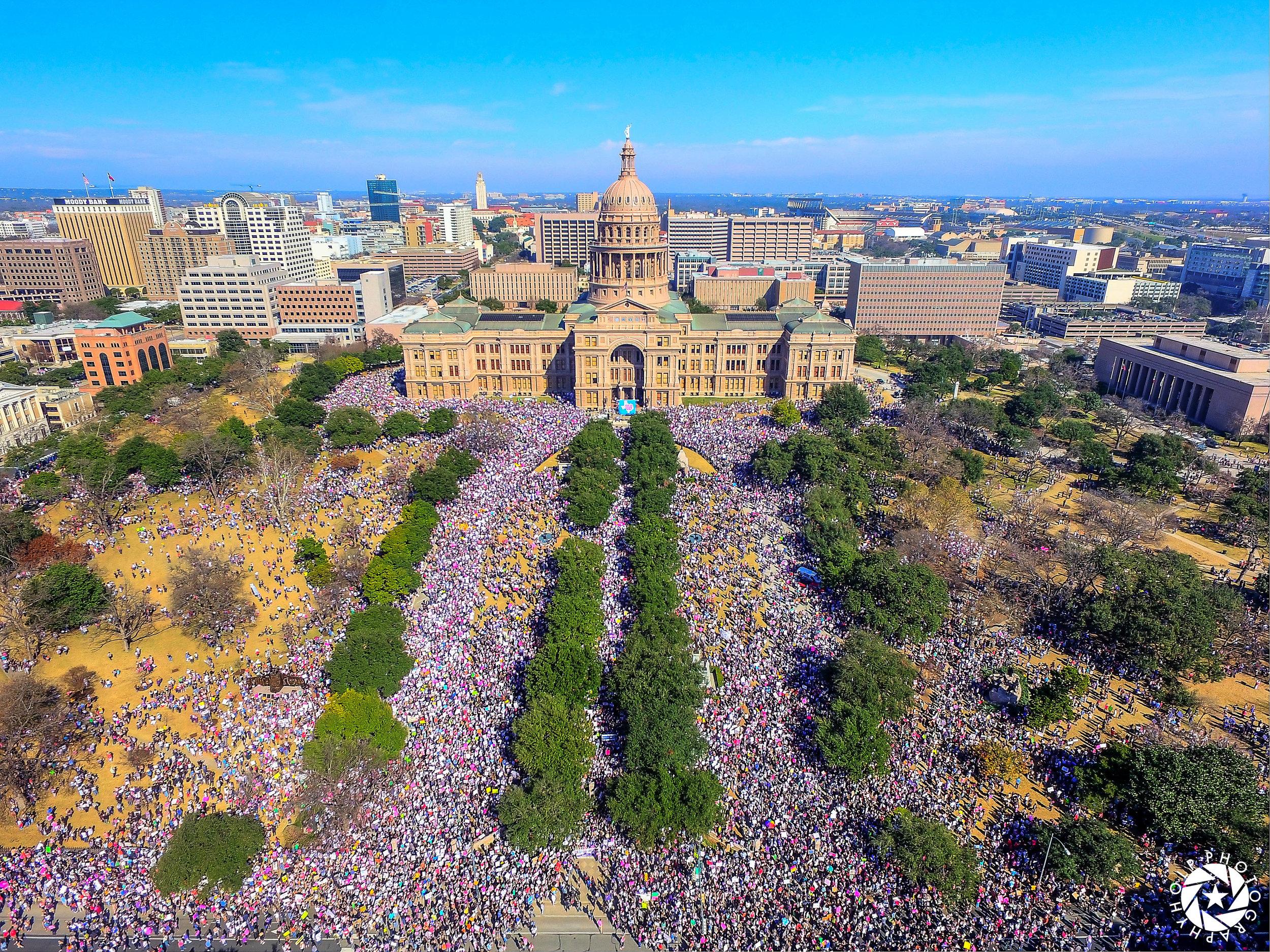 Austin Capitol Women's March - January 21st, 2017