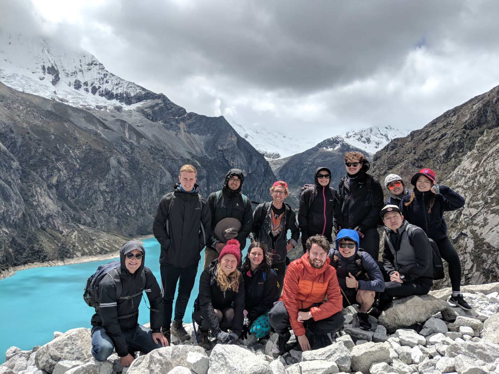 Adventure Hiking Crew for Paramount Trail near Huaraz, Peru