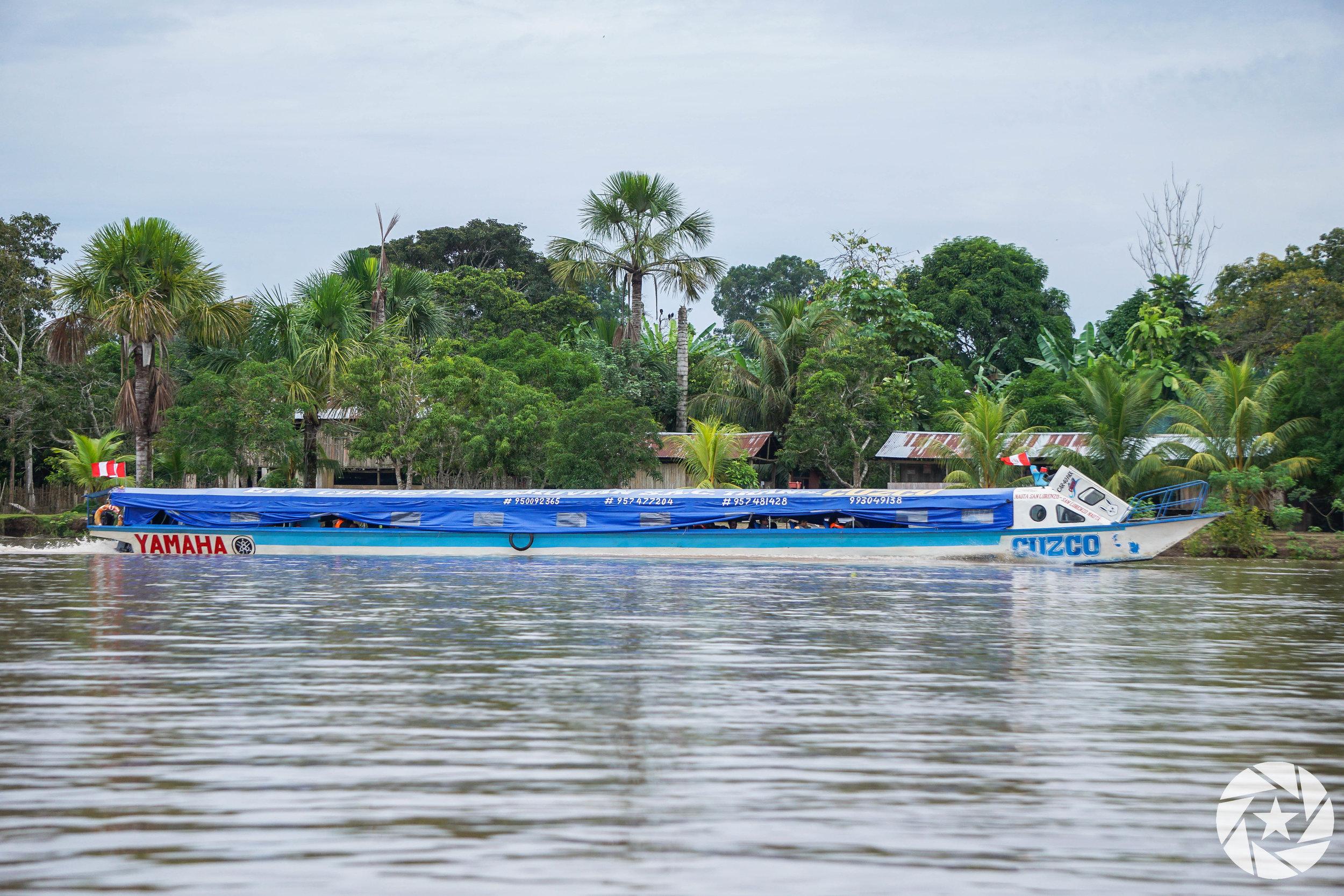 Speedboat Cruise to Iquitos, Peru