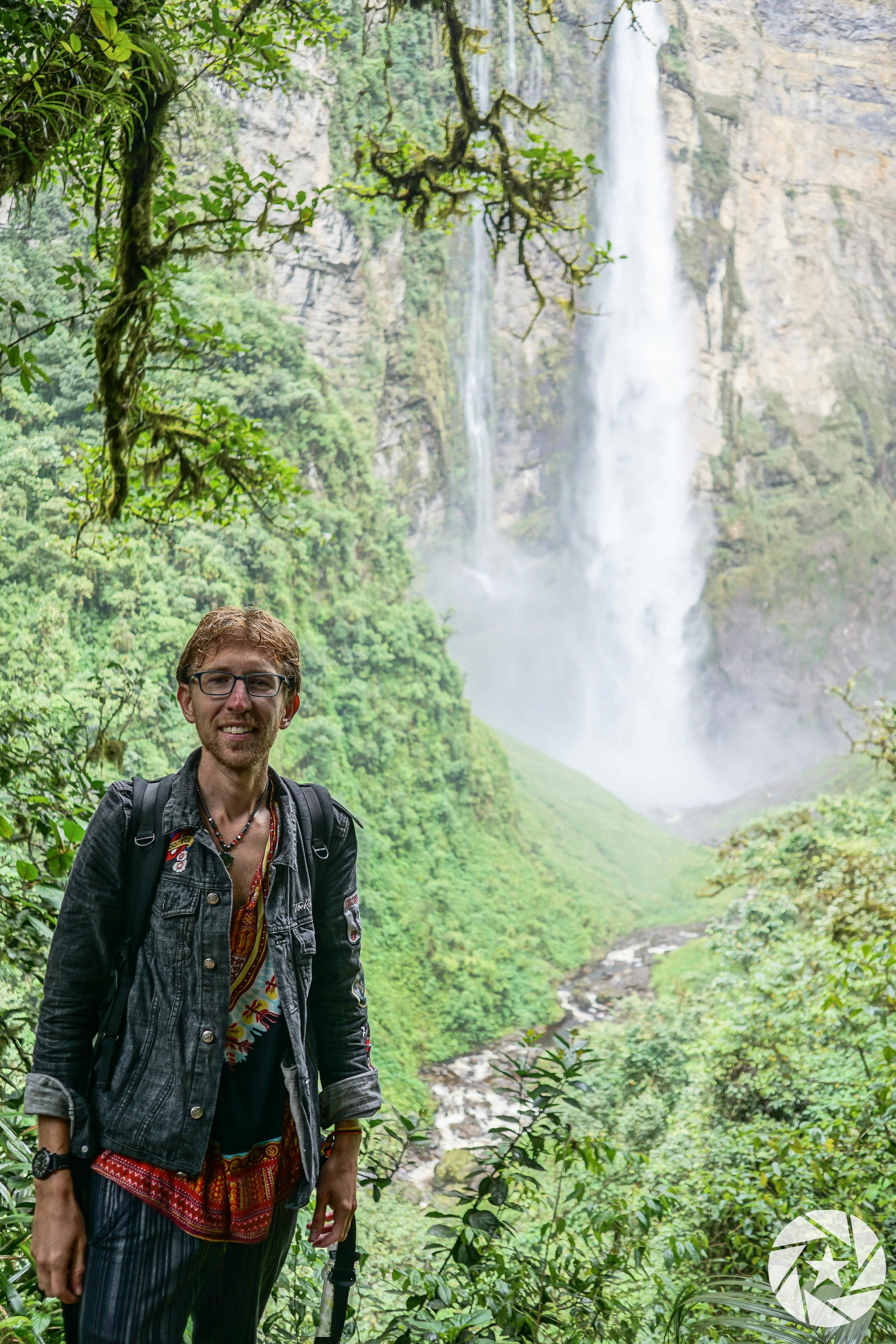 Gochta Waterfall in Chachapoyas, Peru