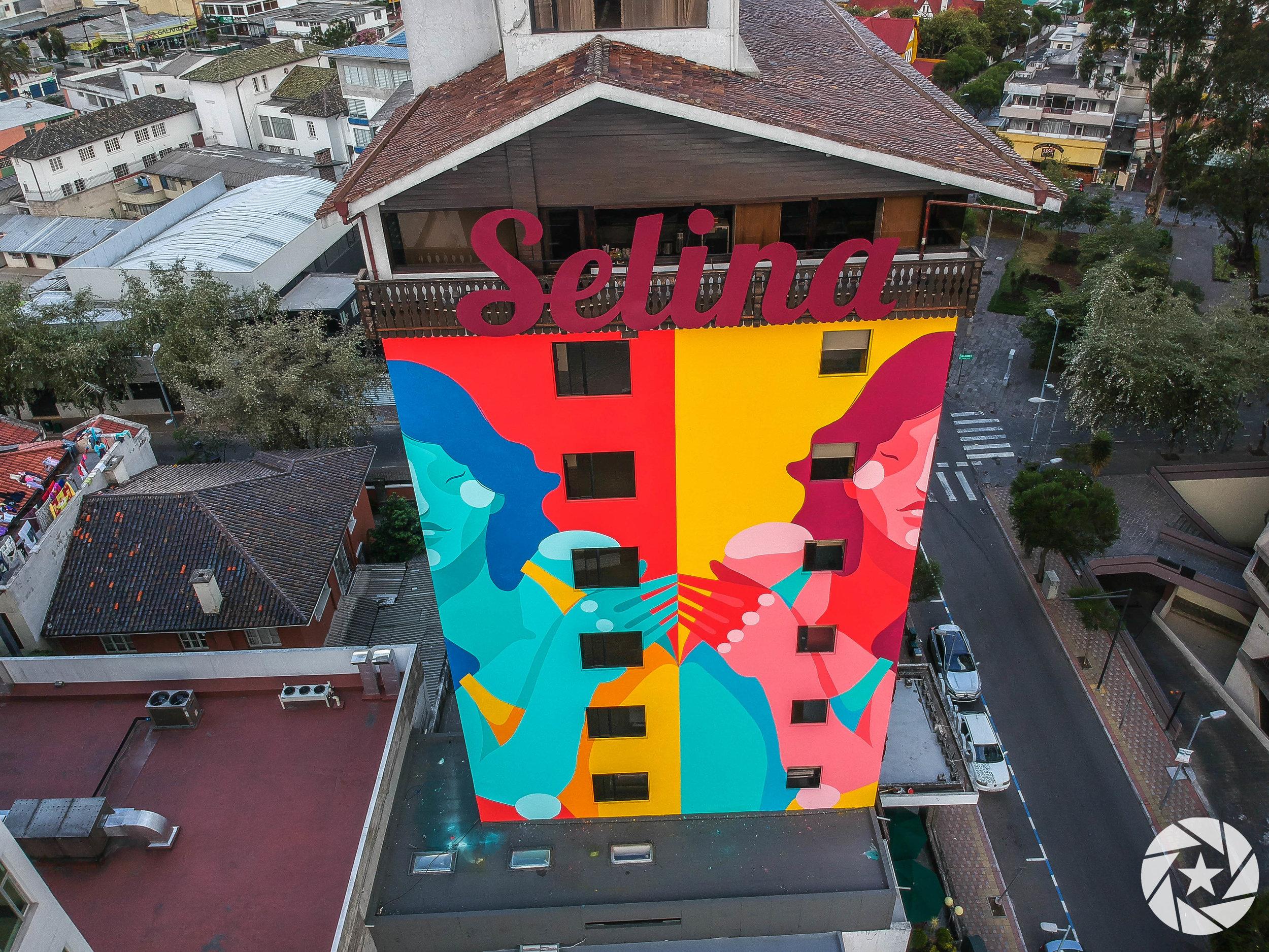 Selina Quito Aerial Photo