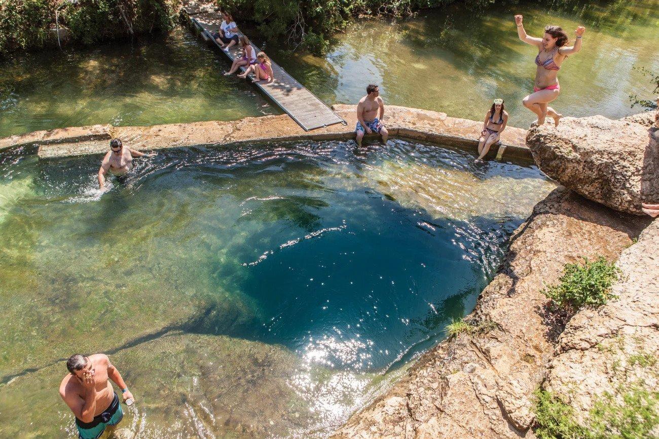 Jacob's Well - Photo Credit: Houstonia