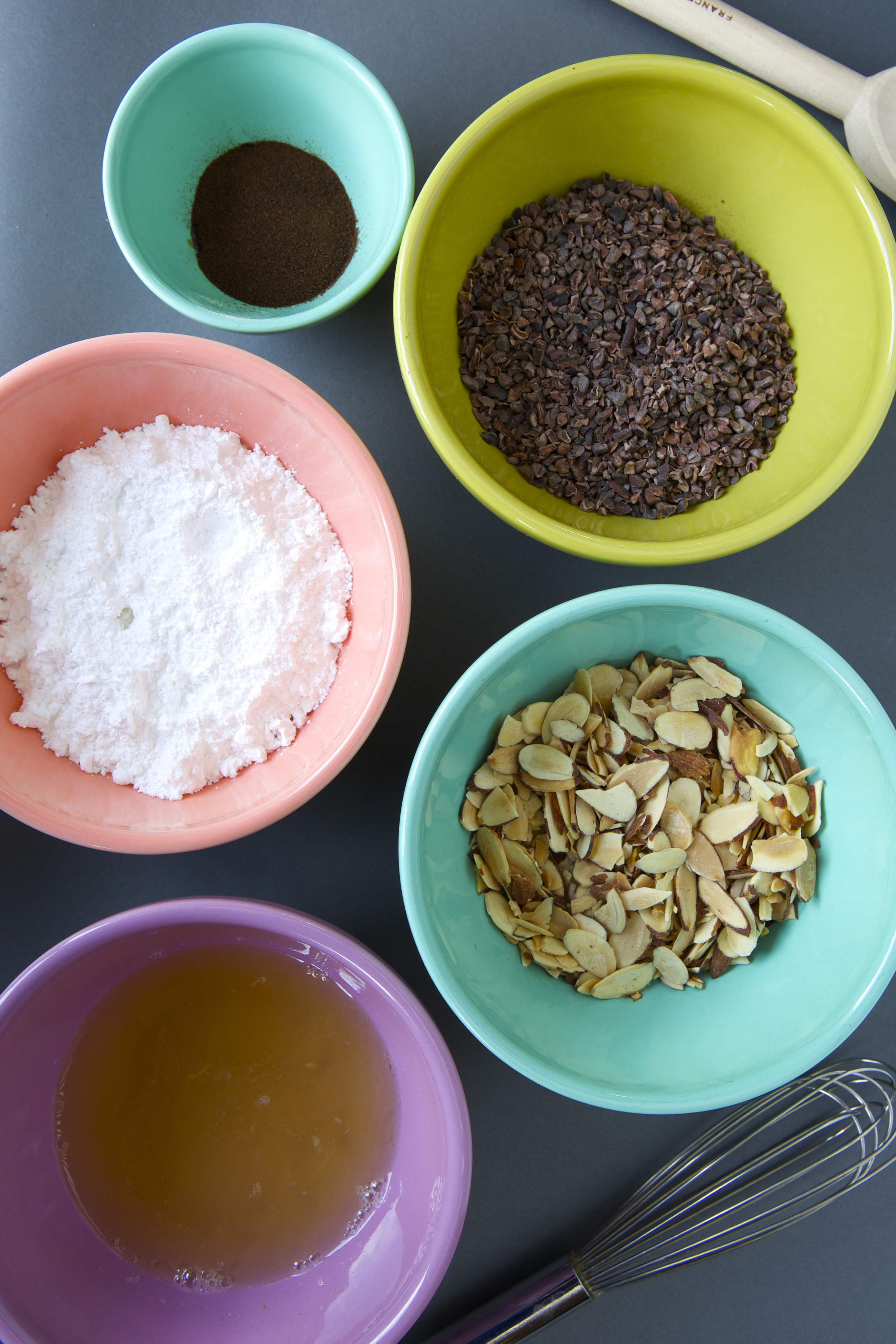 Just a few ingredients to make a delicious cookie.