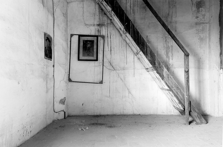 Buhardilla con escalera