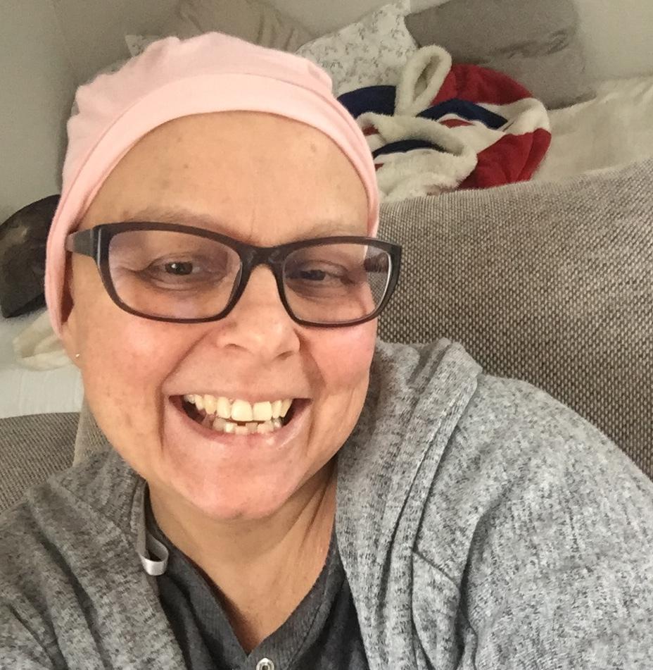 - Le cancer m'a changé à l'extérieur mais aussi à l'intérieur.