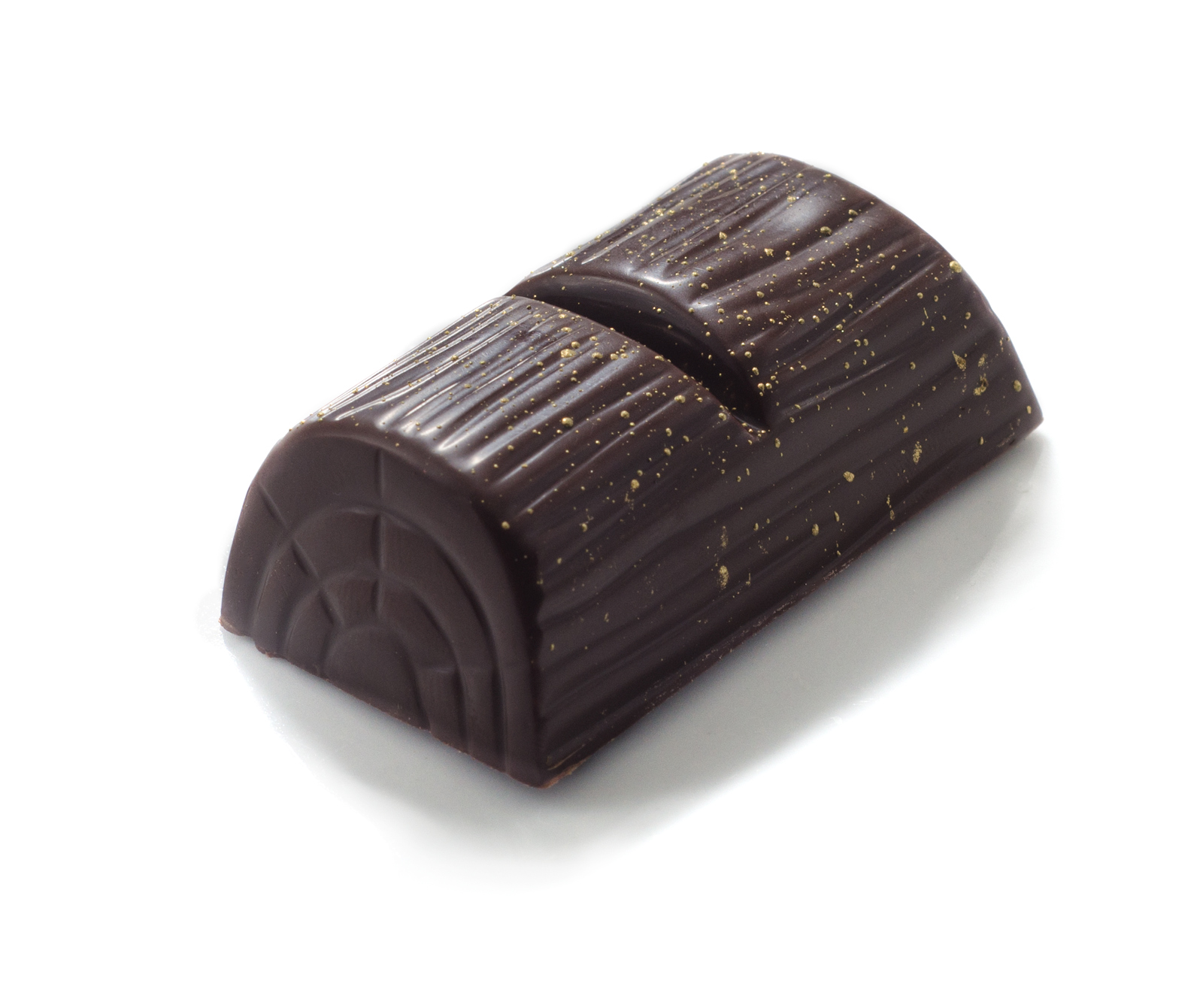 <b>COFFEE LOG</b><P ALIGN=Left>Dark chocolate casing with whole fresh coffee beans</P>
