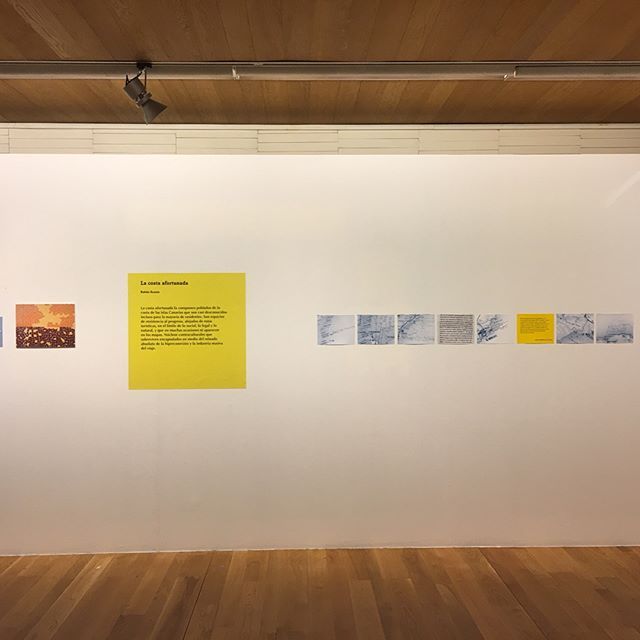 """Mañana termina la exposición """"La costa afortunada"""" en el festival Photoespaña. Muy muy contento de poder llevar rincones ocultos de Canarias a Madrid"""