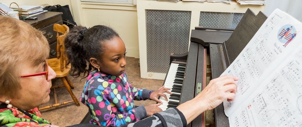 piano lessons for children & adults