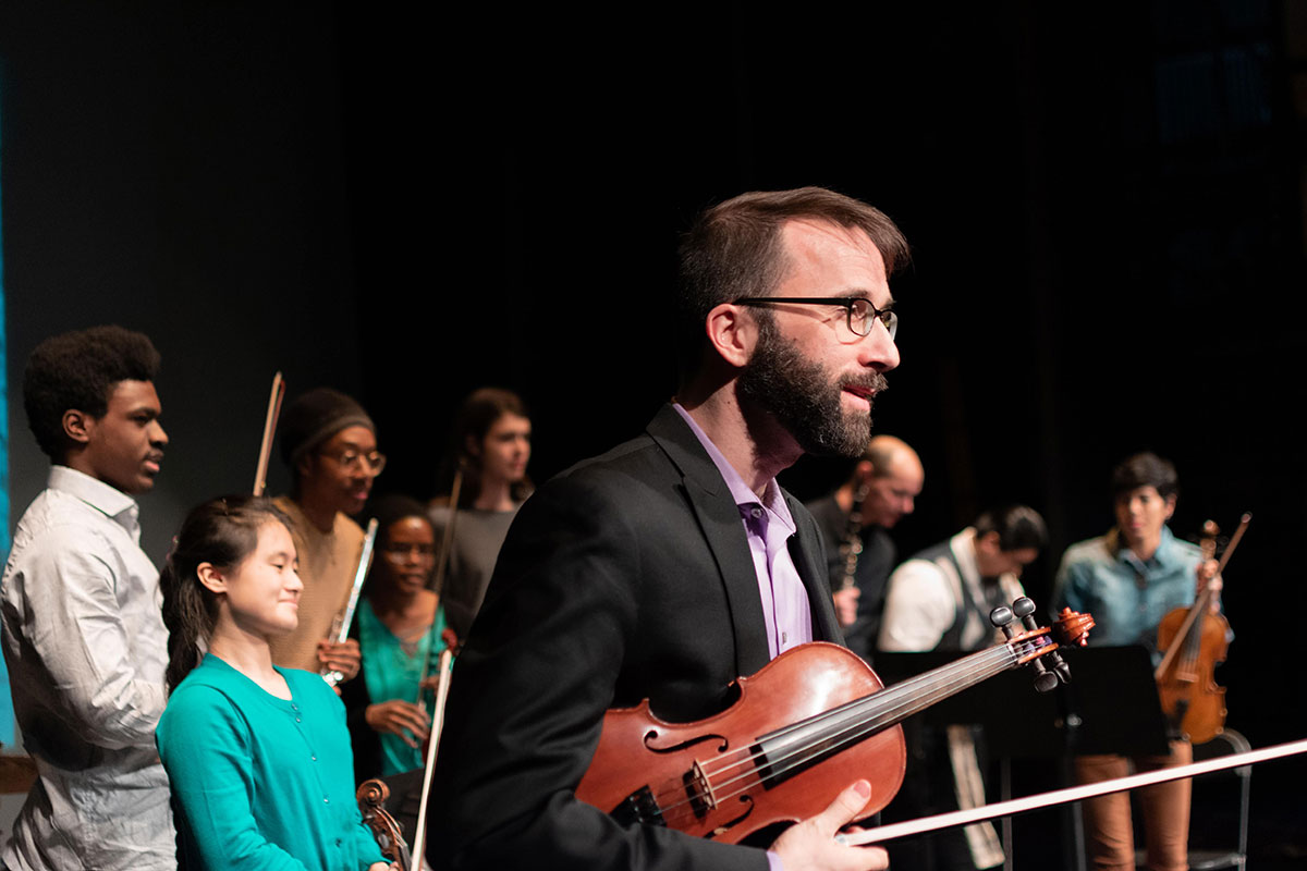 BMS's Adult Orchestra   Photo by Jaznina Santiago