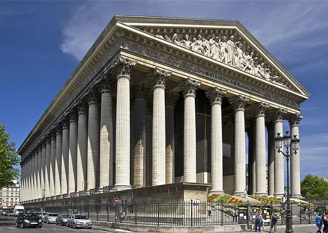La Madeleine, where the concert will be on April 23, 2019.